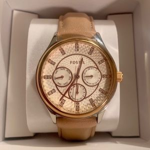 FOSSIL Nude Leather Watch
